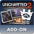 Uncharted 2: Among Thieves - Siege Expansion Pack PlayStation 3 Front Cover