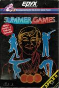 Summer Games Apple II Front Cover