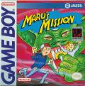 Maru's Mission Game Boy Front Cover
