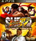 Super Street Fighter IV PlayStation 3 Front Cover