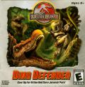 Jurassic Park III: Dino Defender Macintosh Front Cover