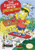 The Simpsons: Bart vs. the Space Mutants NES Front Cover