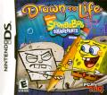 Drawn to Life: SpongeBob SquarePants Edition Nintendo DS Front Cover
