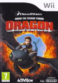 How to Train Your Dragon Wii Front Cover