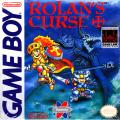 Rolan's Curse Game Boy Front Cover