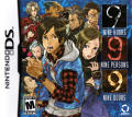 999: Nine Hours • Nine Persons • Nine Doors Nintendo DS Front Cover