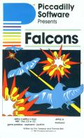 Falcons Apple II Front Cover