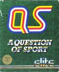 A Question of Sport Commodore 64 Front Cover