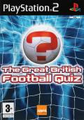 The Great British Football Quiz PlayStation 2 Front Cover
