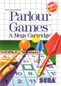 Parlour Games SEGA Master System Front Cover