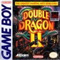 Double Dragon II Game Boy Front Cover