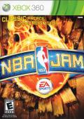 NBA Jam Xbox 360 Front Cover