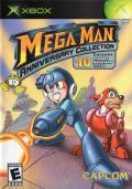 Mega Man: Anniversary Collection Xbox Front Cover