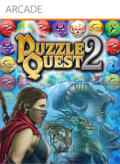 Puzzle Quest 2 Xbox 360 Front Cover