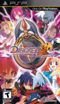 Disgaea Infinite PSP Front Cover
