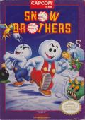 Snow Bros. Nick & Tom NES Front Cover