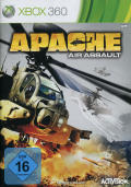 Apache Air Assault Xbox 360 Front Cover