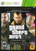 Grand Theft Auto IV: Complete Edition Xbox 360 Front Cover