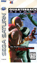Quarterback Attack SEGA Saturn Front Cover