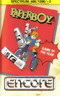 Paperboy ZX Spectrum Front Cover