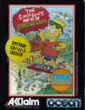 The Simpsons: Bart vs. the Space Mutants ZX Spectrum Front Cover