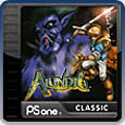 Alundra PlayStation 3 Front Cover