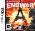 Tom Clancy's EndWar Nintendo DS Front Cover