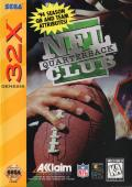 NFL Quarterback Club SEGA 32X Front Cover
