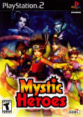 Mystic Heroes PlayStation 2 Front Cover