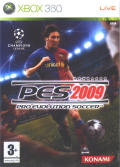 PES 2009: Pro Evolution Soccer Xbox 360 Front Cover