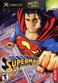Superman: The Man of Steel Xbox Front Cover