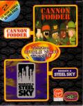 Telstar Double Value Games: Cannon Fodder and Beneath a Steel Sky DOS Front Cover