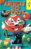 American 3D Pool ZX Spectrum Front Cover