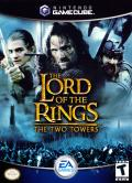 The Lord of the Rings: The Two Towers GameCube Front Cover