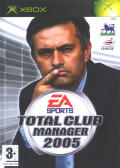 Total Club Manager 2005 Xbox Front Cover