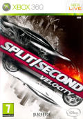 Split/Second Xbox 360 Front Cover