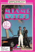 Miami Vice DOS Front Cover