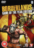 Borderlands: Game of the Year Edition Macintosh Front Cover
