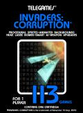 Invaders: Corruption Macintosh Front Cover