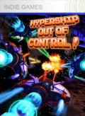 Hypership Out of Control Xbox 360 Front Cover 1st version