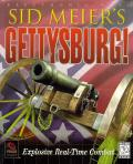 Sid Meier's Gettysburg! Windows Front Cover Confederate side