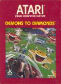 Demons to Diamonds Atari 2600 Front Cover
