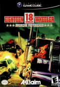 Eighteen Wheeler: American Pro Trucker GameCube Front Cover