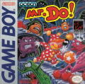 Mr. Do! Game Boy Front Cover
