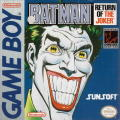 Batman: Return of the Joker Game Boy Front Cover