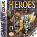 Heroes of Might and Magic Game Boy Color Front Cover