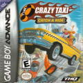 Crazy Taxi: Catch a Ride Game Boy Advance Front Cover