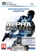 Alpha Protocol (Kollekzionnoe izdanie) Windows Front Cover