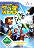 Star Wars: The Clone Wars - Lightsaber Duels Wii Front Cover