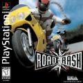 Road Rash PlayStation Front Cover